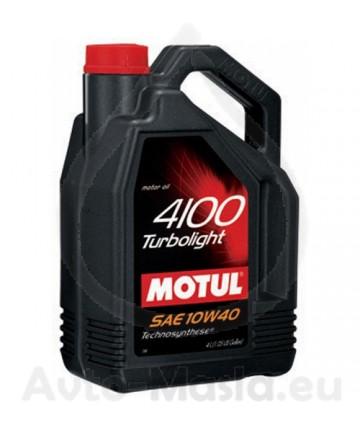 MOTUL 4100 TURBOLIGHT 10W40- 5L