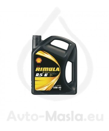 SHELL RIMULA R5 E 10W40- 4 ЛИТРА