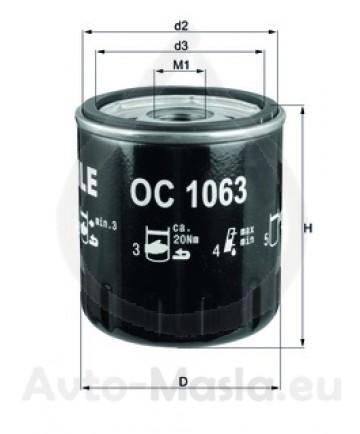 Маслен филтър KNECHT OC 1063