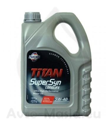 TITAN SUPERSYN LONGLIFE 5W40- 4L