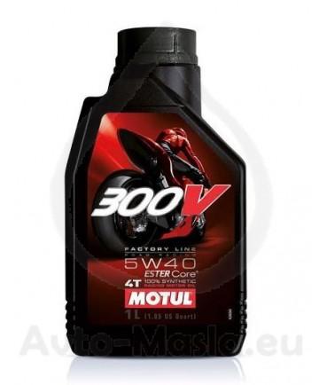 MOTUL 300V 4T Factory Line Road Racing 5W40- 1l