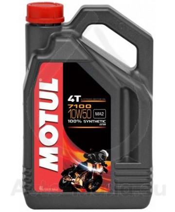 Масло MOTUL 7100 4T 10W50 4L