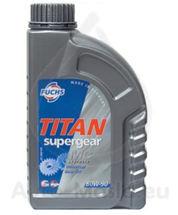 FUCHS TITAN SUPERGEAR MC 80W-90 - 1L