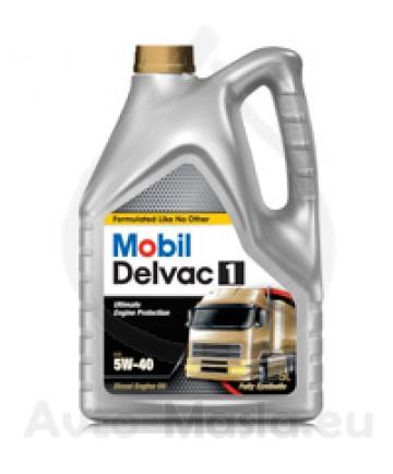 Mobil Delvac 1 5W40- 4L