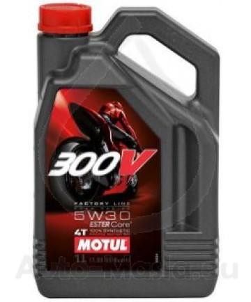 MOTUL 300V 4T Factory Line Road Racing 5W30- 4L