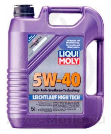 LIQUI MOLY LEICHTLAUF HIGH TECH 5W40 - 5L