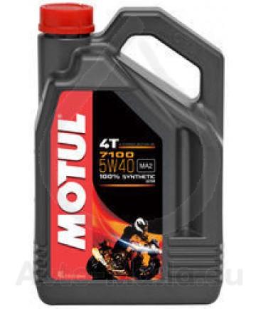 Мотоциклетно масло MOTUL 7100 4T 5W40- 4L