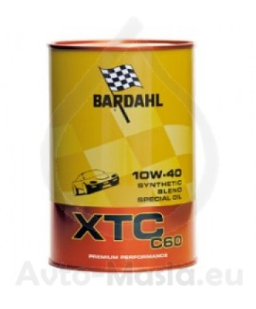 Bardahl XTC C60 10W40- 1L