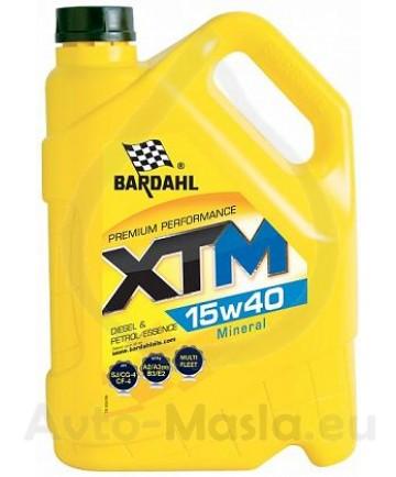 Bardahl XTM 15W40- 5L