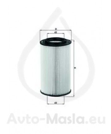 Маслен филтър KNECHT OX 773D