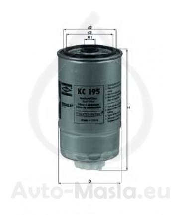 Горивен филтър KNECHT KC 195