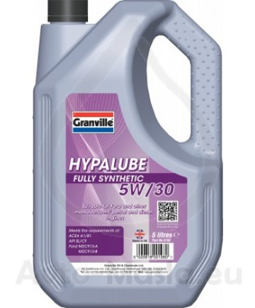Моторно масло GRANVILLE HYPALUBE FS 5W30- 5l