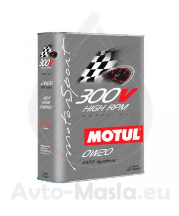 MOTUL 300V High RPM 0W20- 2L