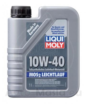 LIQUI MOLY MоS2 LEICHTLAUF 10W40
