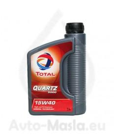Total Quartz 5000 15W40 -1 литър