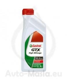 CASTROL GTX HIGH MILEAGE 15W40 1L