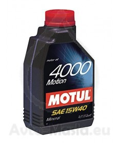 MOTUL 4000 MOTION 15W40- 1L