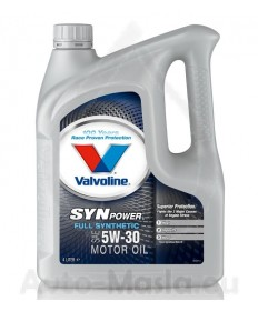 VALVOLINE SynPower 5W30- 4L