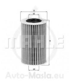 Маслен филтър KNECHT OX 554D2
