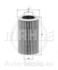 Маслен филтър KNECHT OX 775D
