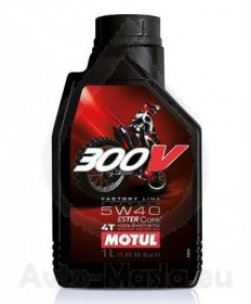 MOTUL 300V 4T Factory Line Off Road 5W40- 1L