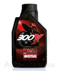 MOTUL 300V 4T Factory Line Road Racing 5W30- 1L