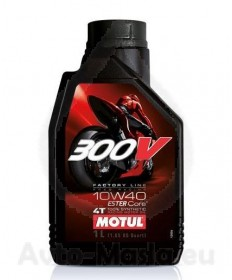 MOTUL 300V 4T Factory Line Road Racing 10W40- 1L