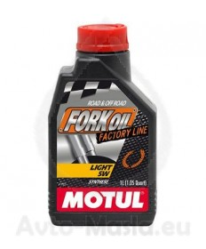 Motul Fork Oil Light Factory Line 5W- 1 ЛИТЪР