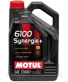 MOTUL 6100 SYNERGIE+ 10W40- 4L