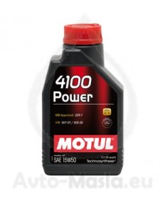 MOTUL 4100 POWER 15W50- 1 ЛИТЪР