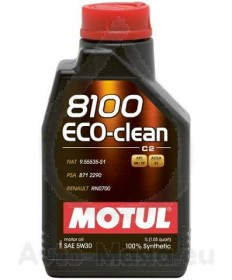 MOTUL 8100 ECO-Clean 5W30- 1L