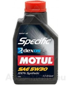 MOTUL SPECIFIC Dexos 2 5W30- 1L
