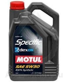 MOTUL SPECIFIC Dexos 2 5W30- 5L