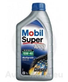 MOBIL SUPER 1000 X1 DIESEL 15W40- 1L