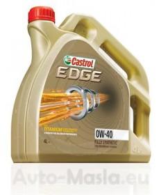 CASTROL EDGE TITANIUM FST 0W40- 4L
