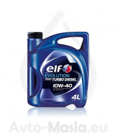 Elf Evolution 700 Turbo Diesel 10W40- 4L