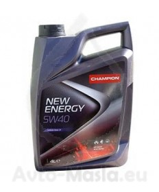 Моторно масло Champion New Energy 5W40- 4L