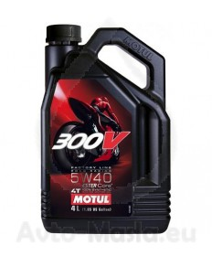 MOTUL 300V 4T Factory Line Road Racing 5W40- 4L