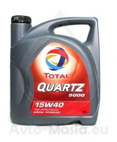 Total Quartz 5000 15W40- 4L
