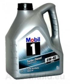 MOBIL 1 TURBO DIESEL 0W40- 4L