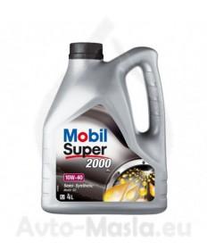 MOBIL SUPER 2000 X1 10W40- 4L