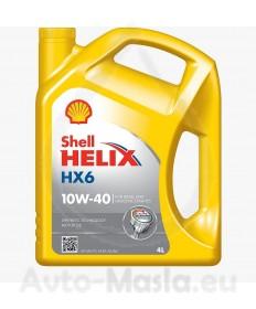 Shell Helix HX6 10W40 4L