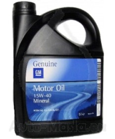 Моторно масло OPEL 15W40
