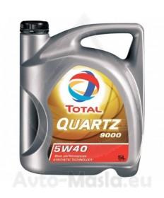 Total Quartz 9000 5W-40- 5L