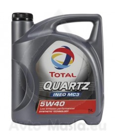 Total Quartz INEO MC3 5W40- 5L