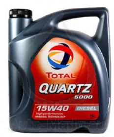 Total Quartz 5000 Diesel 15W40