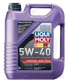 LIQUI MOLY SYNTHOIL HIGH TECH 5W40- 5L