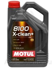 MOTUL 8100 X-CLEAN+ 5W30- 5L