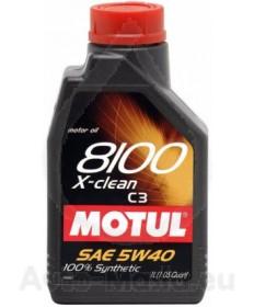 MOTUL 8100 X-CLEAN 5W40- 1L