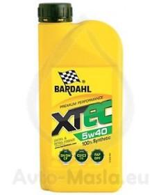 Bardahl XTEC 5W40- 1L